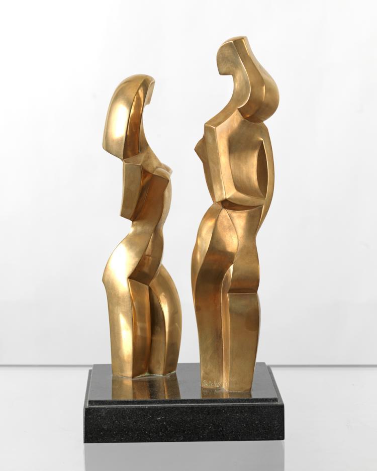 Deux Filles de Vence, ed. 2/8