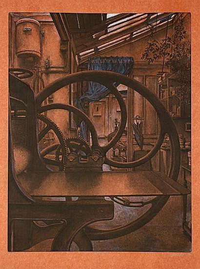 Érik Desmazières (né en 1948) Atelier René Tazé