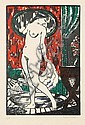 Robert Bonfils (1886-1972) Femme au tub. 1914., Robert Bonfils, Click for value