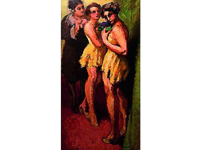 * GABORIAUD Josué (1883-1955). Les girls 1000 /