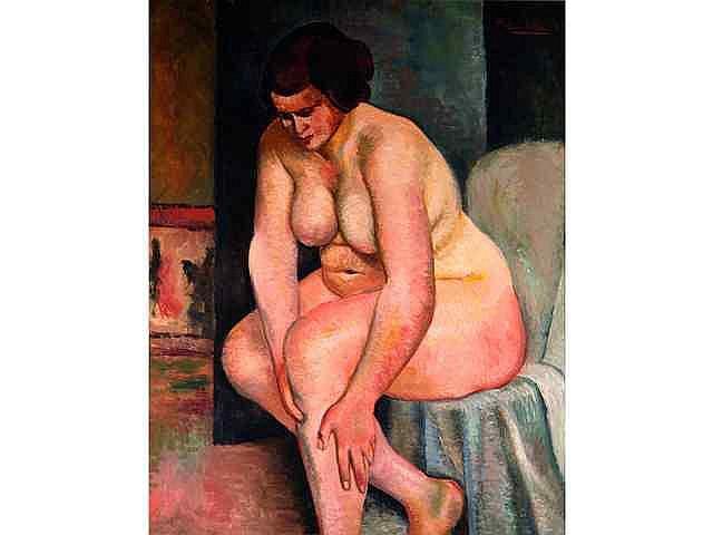 * UTTER André (1886-1948). Nu n°1 1000 / 1500