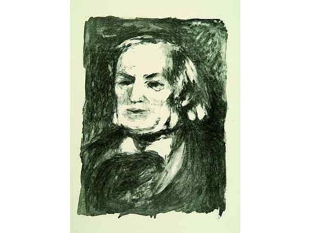 Pierre-Auguste Renoir. Richard Wagner. Vers 1900.