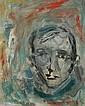 Georges KOSKAS (né en 1926) Autoportrait Huile sur, Georges Koskas, Click for value