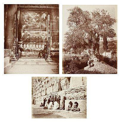 Photographs: Félix Bonfils (1831-1885) - G. Saboungi (actif c. 1870)