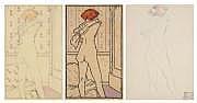 JEAN-ÉMILE LABOUREUR (1877-1943) Une puce. 1913.