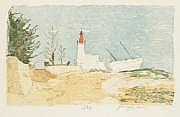 Pierre-Eugène Clairin (1897-1980) Loctudy. Vers
