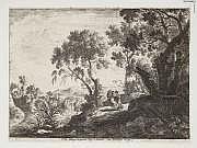 Henri Mauperché (1602-1686) L'Ange luttant contre