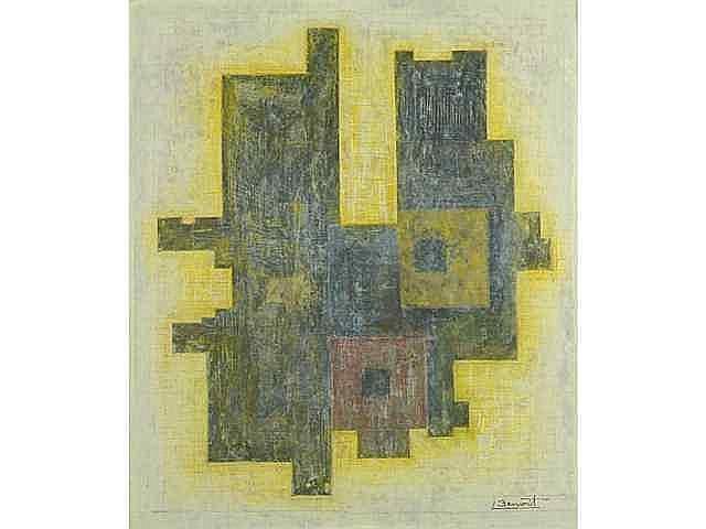 70 B - Serge BENOIT (né en 1937) Composition