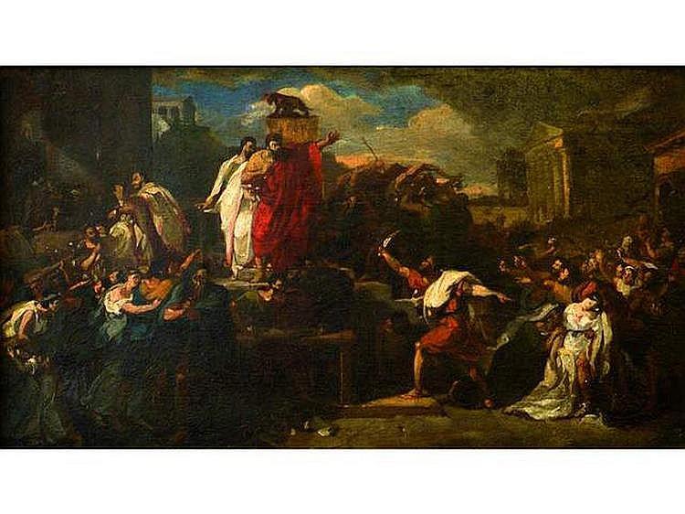 Attribué à Guillaume GUILLON LETHIERE (1760-1832)