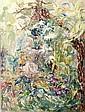 Eliane DIVERLY (née en 1914). Terres latines,, Eliane Diverly, Click for value