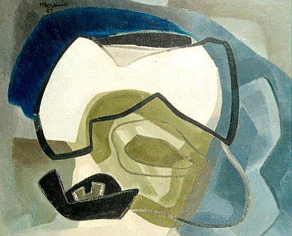 Francis MONTANIER (1895-1974) La petite falaise