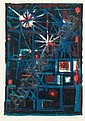 Théo Kerg (1909-1993) Les Tours de feu. Vers 1960.