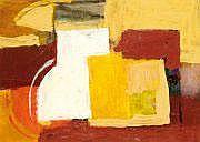 Georges VINCE (1913-1991) Composition Gouache.