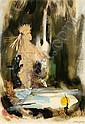 Anna STARITSKY (1911-1981) Mal de Lune Technique, Anna Staritsky, Click for value