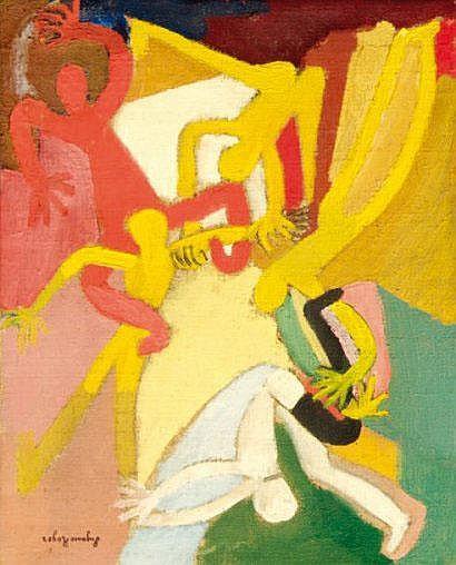 Suzanne ROGER (1899-1986) La guirlande