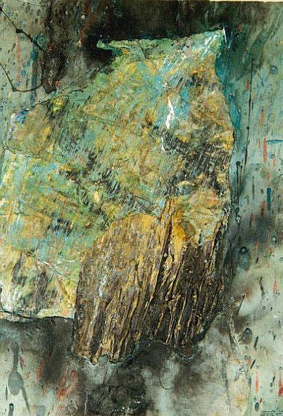 Franz BEER (né en 1929) Composition Technique