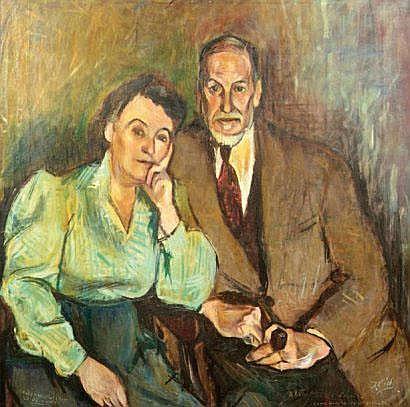 José Vilato RUIZ FIN (1916-1969) Portrait