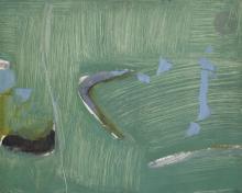 Olivier DEBRÉ, Bateaux taches grises, 1962