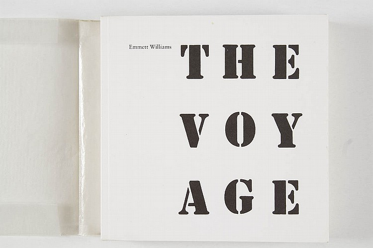 WILLIAMS Emmett.{CR}The voyage. Stuttgart, Hansjörg Mayer, 1975. In-8 carré, br.
