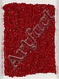 Michel MAGNE Tricot rouge, vers 1977 Bandes, MIchel Magne, Click for value