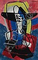 Francis MONTANIER (1895-1974) Extase Gouache sur, Francis Etienne Montanier, Click for value