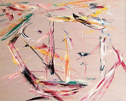 Fernand LEDUC (canadien né en 1916) Composition en