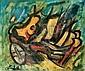 Edgar STOEBEL (1909-2001) Composition abstraite, Edgar Stoëbel, Click for value