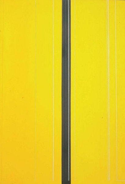 Luc PEIRE (1916-1994) Mousson 1968 Huile sur