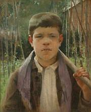 Louise de HEM (18661922) [Belge] Chaude journée.