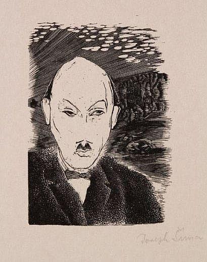 Joseph Sima (1891-1971) Portrait de Pierre-Jean