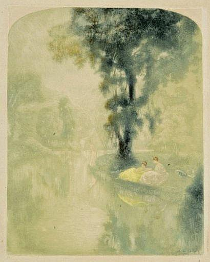 Henri Le Riche (1868-1944). [Elégantes au bord