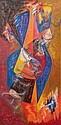 James PICHETTE (1920-1996) Fusion, 1955-56 Huile, James Pichette, Click for value