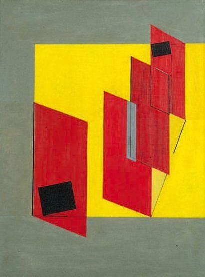 Eduardo JONQUIERES (1918-2000) Composition