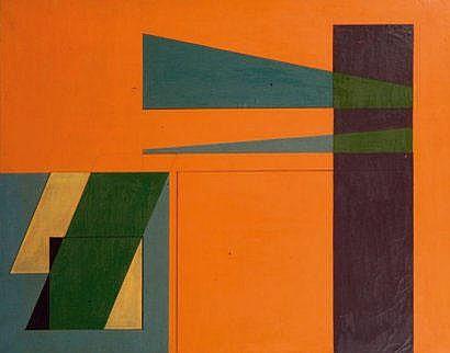 Eduardo JONQUIERES (1918-2000) Composition F 53,