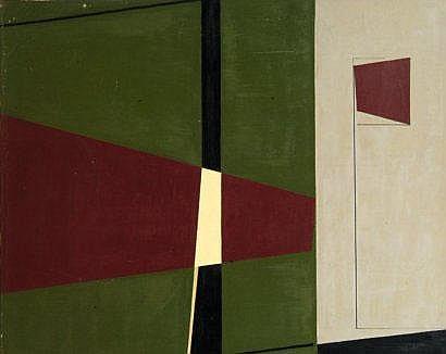 Eduardo JONQUIERES (1918-2000) Composition F291,
