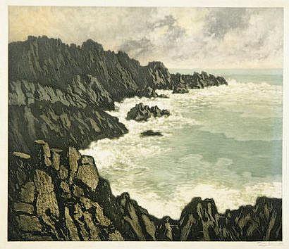 Pierre LABROUCHE (1876-1956) [Vue d'une côte