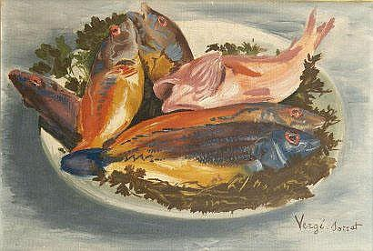 Henri VERGE-SARRAT (1880-1966). Nature morte aux