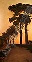 Félix-Elie TOBEEN (1880-1939). Les pins au soleil