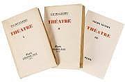 Sacha GUITRY Théâtre I-III (Librairie Plon,