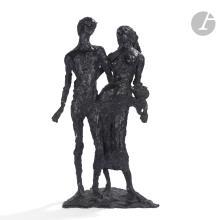 EDMOND MOIRIGNOT (1913-2002) Les amants, le modèle créé vers [1970], épreuve n° 2/6