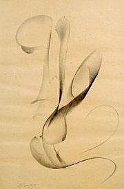 Jean CHAUVIN (1889-1976) Composition abstraite.