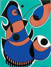 Raymond TRAMEAU (1897- circa 1985) Composition