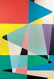 Etienne BEOTHY (1897-1961) Composition. Huile sur