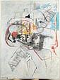 Bernard DUFOUR (né en 1922) Les amis. Huile sur, Bernard Dufour, Click for value
