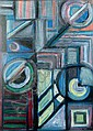 Nicolas ISSAIEV (1891-1977) Composition abstraite., Nikolaj Isaev, Click for value