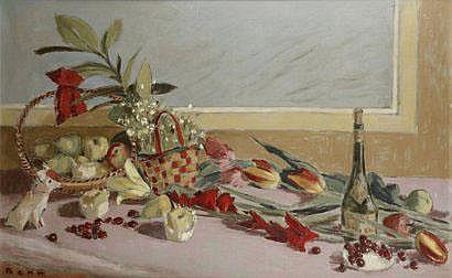 BENN (Benejou Rabinowicz dit, 1905-1989) Nature
