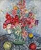 Andor BASCH (1885-1944) Fleurs, 1931 Huile sur