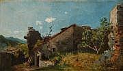 Paul-Albert BAUDOUIN (1844-1931) A l'ombre, 1912
