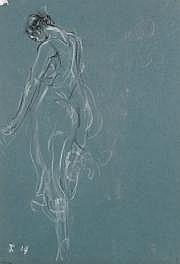 Jules Grandjouan (1875-1968) Isadora saluant