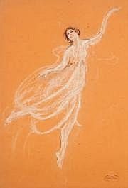 Jules Grandjouan (1875-1968) Isadora pleine de